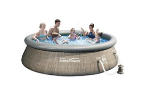 Summer Waves Pool 12 ft x 36in in Grey for Sale in Greenwood, SC