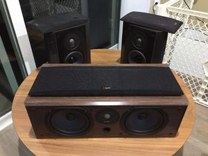 Polk Audio Center and Dipole Surround sound speakers. Excellent condition for Sale in Los Angeles, CA