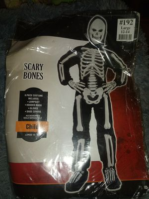 Scary Bones Costume for Sale in Marysville, WA