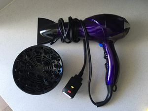 Like new hair dryer with attachments for Sale in Austin, TX