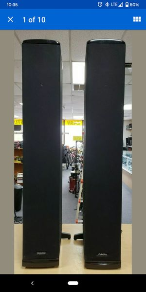 Definitive Technology BP 7006 Tower Speakers (pair) for Sale in Chicago, IL