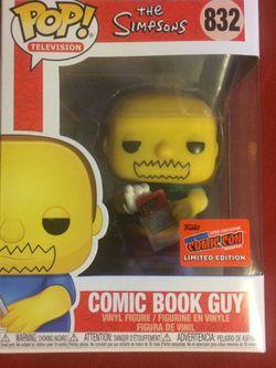 Comic Book Guy Funko Pop for Sale in Concord, CA