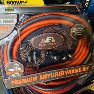 Elite Audio 0 Gauge Amp Installation for Sale in San Bernardino, CA