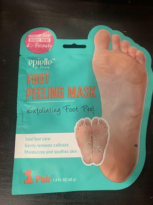 FOOT PEELING MASK for Sale in Lakewood, CA