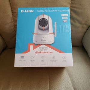 Wifi Full HD Pan &Tilt Camera D-Link (New!!) for Sale in Plymouth, MI