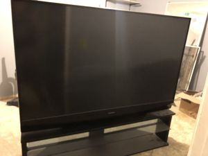 Mitsubishi projection TV 65 inch for Sale in Las Vegas, NV
