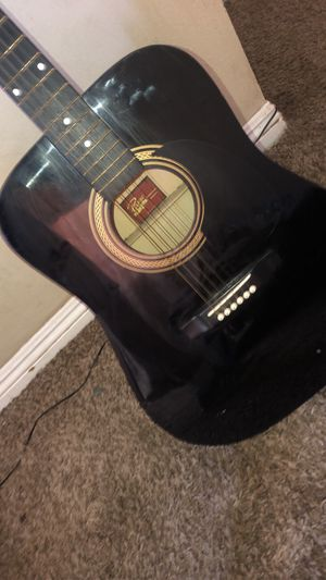 Rogue Black Acoustic Guitar for Sale in Los Angeles, CA