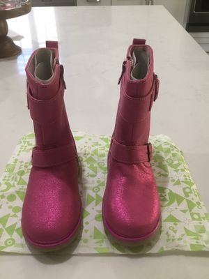 Toddler size 10 Girls Pink Step & Stride Lara Boots (never worn, shoes, footwear) for Sale in Las Vegas, NV