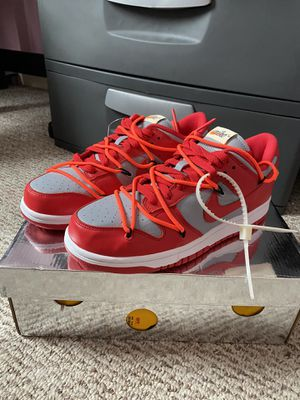 Off White Nike Dunk University Red for Sale in Hialeah, FL