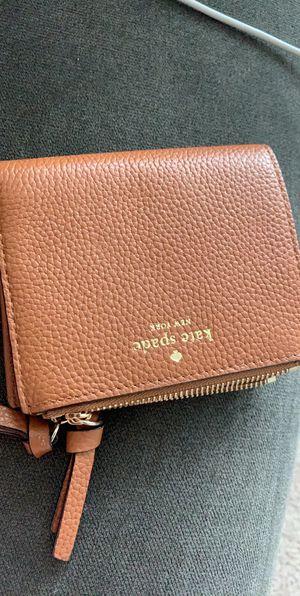 Kate spade cognac wallet new for Sale in Berwyn, IL