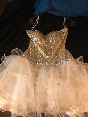 Champagne Gold Medium Size Balloon Dress for Sale in Washington, DC