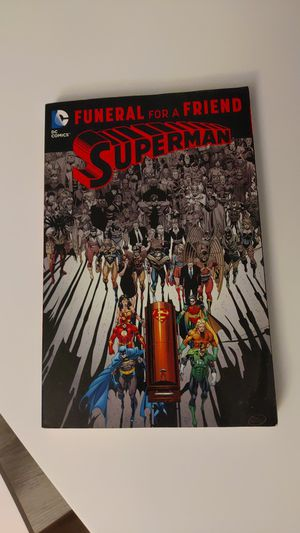 Superman : Funeral for a friend graphic novel. for Sale in Raleigh, NC