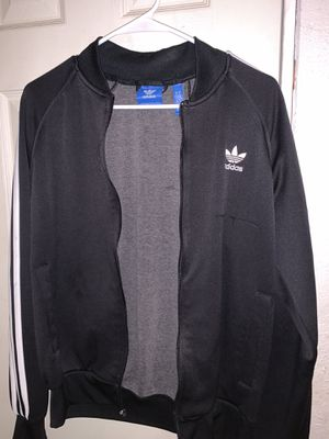 Black and white adidas jacket for Sale in Huntington Beach, CA