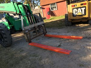 Skid steer fork extensions $295 for Sale in Fort Worth, TX