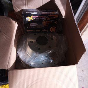 Brand New Rear Heavy Duty Disk Breaks With Pads for Sale in Glendale, AZ
