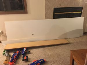 Entertainment center and shelving boards for Sale in Eagan, MN
