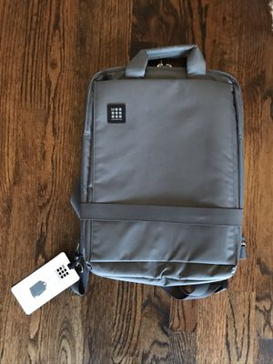 MOLESKINE gray laptop backpack NEW!!! for Sale in Norridge, IL