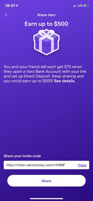Free Moolah with VARO for Sale in Robinson, TX
