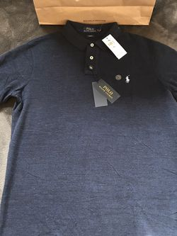 Ralph Lauren 🇺🇸 Polo 🐎 Navy Blue Multi Colored Shirt Sz XL for Sale in Dallas,  TX