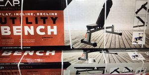 Weight Bench Adjustable. Cap for Sale in Santee, CA