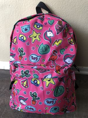 Large girl's new emoji backpack. New with tags! for Sale in Fontana, CA