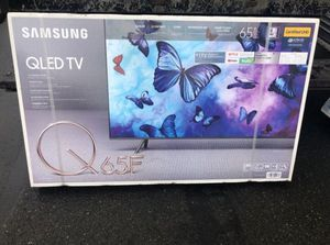 "65"" Samsung QN65Q65FN QLED 4K UHD HDR Smart TV 240hz 2160p (FREE DELIVERY) for Sale in Lakewood, WA"