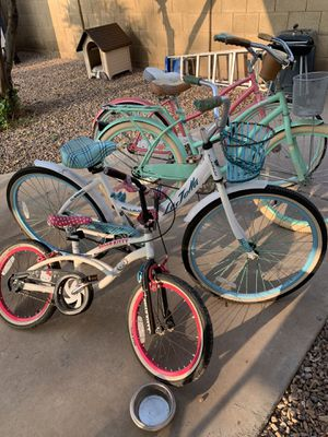 Bikes of various sizes for Sale in Phoenix, AZ