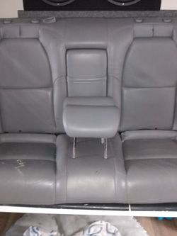 2004-2008 Acura TL Rear Seats Just One Rip $50 for Sale in Portland,  OR