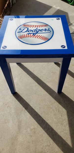 Dodgers End Table for Sale in Hemet, CA