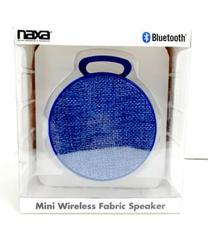 New Blue Mini Clip On Bluetooth Speaker Rechargeable Portable for Sale in Riverside, CA