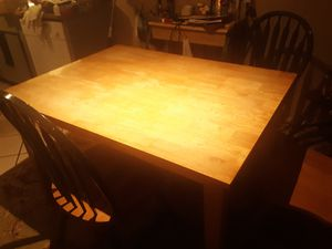 Kitchen table with chairs for 35 for Sale in Jenks, OK