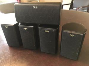 Klipsch set of 5 surround speakers for Sale in Chandler, AZ