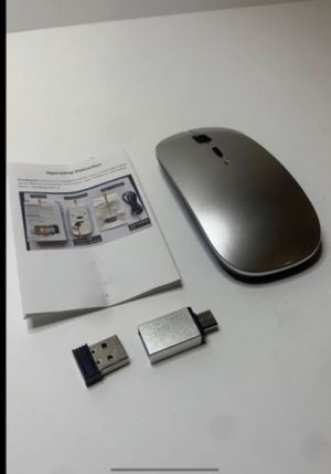 Usb Type A & C Wireless Mouse for Sale in San Bernardino, CA