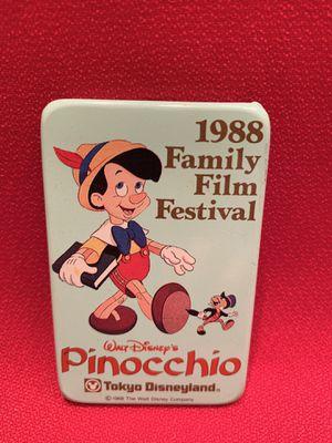 Walt Disney's Pinocchio Tokyo Disneyland Button 1988 for Sale in Chandler, AZ