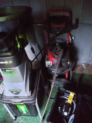 New chainsaw.. Branch grinder. Leaf grinder . pressure washer for Sale in Sanford, FL