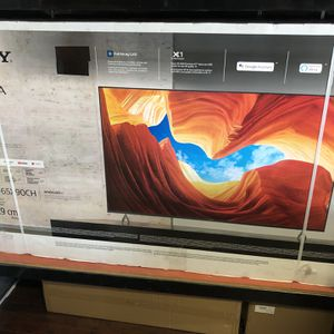 Sony 65 inch 4K Tv Xbr65X90Ch Full Array Led 2020 Model HDMI 2.1 Ps5 Ready black Friday sale for Sale in Jurupa Valley, CA
