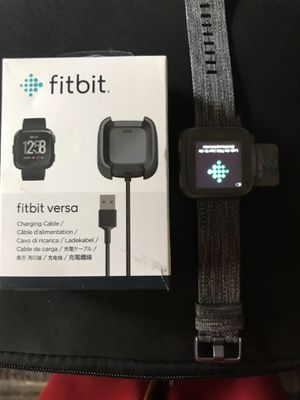 Brand new Fitbit versa special edition for Sale in Bedford, OH