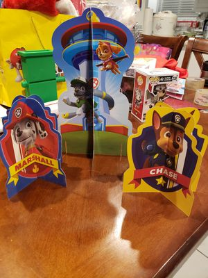 Paw patrol signage for Sale in Anaheim, CA
