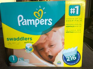 Pamper Diapers #1. for Sale in Greenville, SC