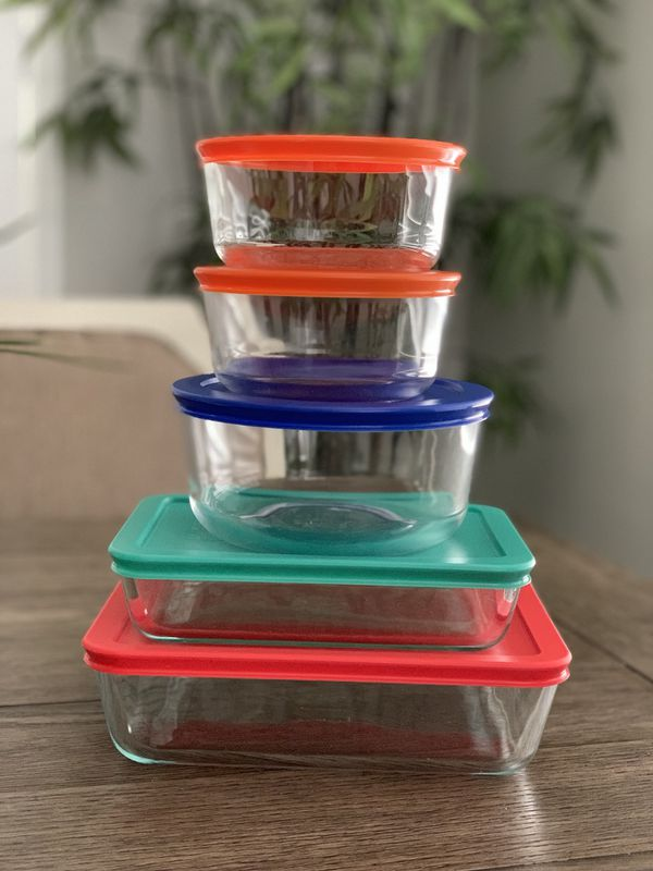 Pyrex Glass 10 Piece Set