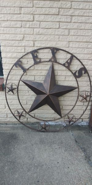 "Huge 45"" Metal Texas Star for Sale in Lancaster, TX"