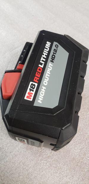 Milwaukee M18 HD12.0 Battery **$120 FIRM** for Sale in Phoenix, AZ