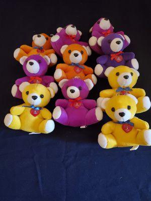 Ten Mini Teddy Bears for Sale in Chula Vista, CA
