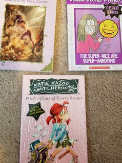 Who's Afraid of Fourth grade; Vida And The Fairy Crown; Dear Dumb Diary for Sale in Bothell,  WA