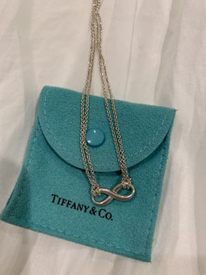 Tiffany Infinity Necklace for Sale in Anaheim, CA