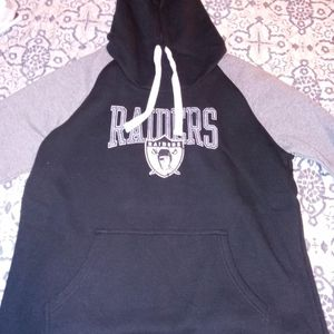 Raiders Authentic Fanatics Hoodie Athletic Fit Mens Large for Sale in Lathrop, CA