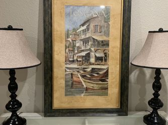 Beautiful framed wall decor - $40 for Sale in Santee,  CA