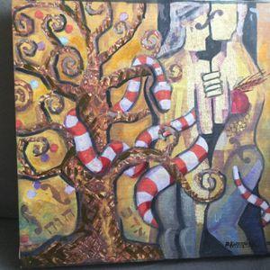 Paint On Glitches By Artist Bernard Korzeniak for Sale in Los Angeles, CA
