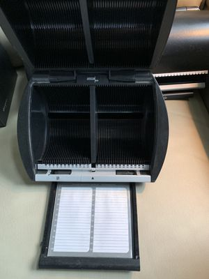 DiscGear holds CD or DVD with name listing and label book for each. Large holds 100. Small holds 50. Very good {url removed} facebook or messenger for Sale in Sevierville, TN