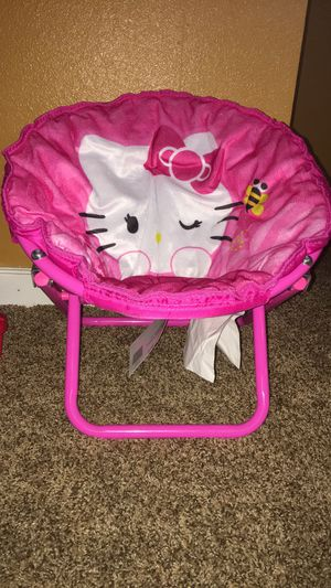 Hello Kitty saucer chair for Sale in Colorado Springs, CO